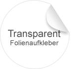 Transparente Folie