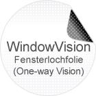 Fensterlochfolie - OneWay-Vision