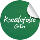 Grüne Kreidetafel-Folie
