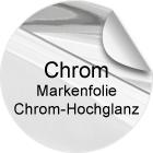 Chrom-Hochglanzfolie
