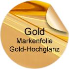 Gold-Hochglanzfolie