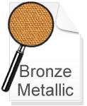 Canvas Leinwand Bronze Metallic