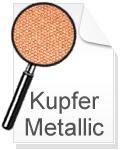 Canvas Leinwand Kupfer Metallic