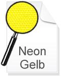 Canvas Leinwand Neon Gelb