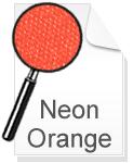 Canvas Leinwand Neon Orange