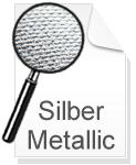 Canvas Leinwand Silber Metallic
