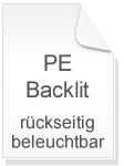 Backlit Film PE