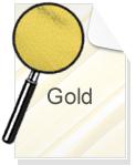 PVC Folie Gold